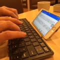 iPhone&bluetooth keyboard
